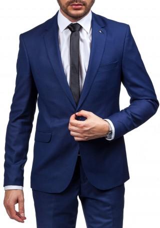 Tmavě modrý pánsky oblek Bolf 5005-2 / www.bolf.cz